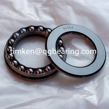 china bearing 51106 thrust ball bearing single direction