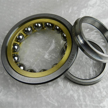 QJ211N2MA four point angular ball bearing