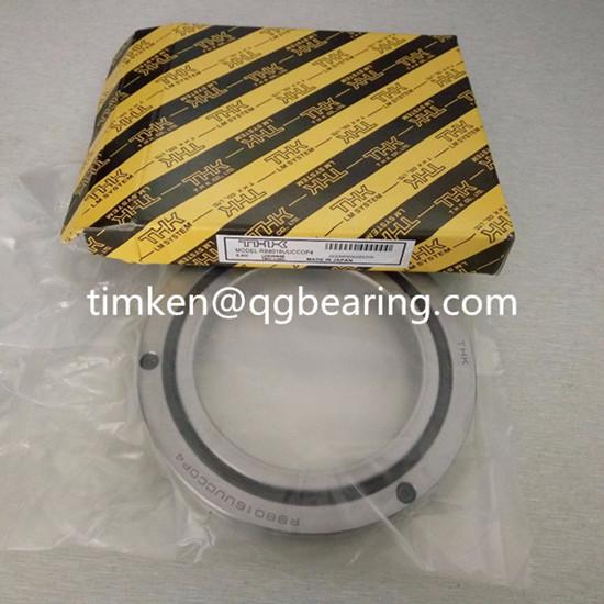THK crossed roller bearing RB8016 slewing bearing